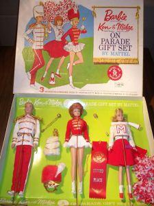 BarbieKenMidge~OnParade~GiftSet