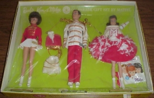 BarbieKenMidge~OnParade~GiftSet~NRFB~brunette