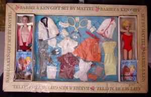 BarbieKen~Tennis~Giftset~1963~2