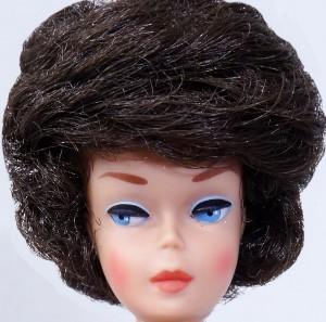 Big Head Bubble Cut brunette