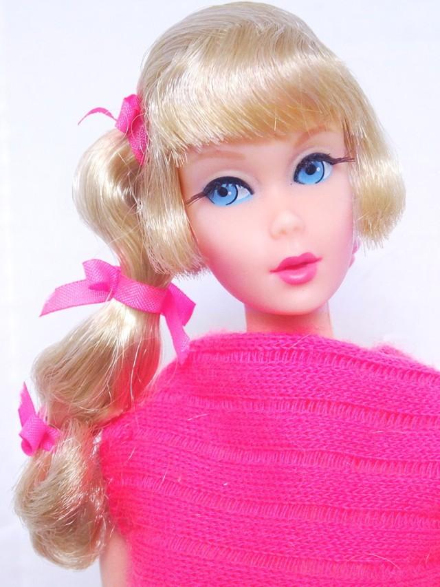 Blonde Side Ponytail Talking Barbie Doll