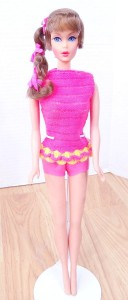 Brunette Talking Barbie Doll