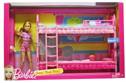 Bunk Beds Play Set with Stacie