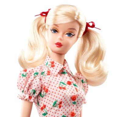 Cherry Pie Picnic Barbie Doll face