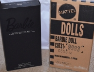 Classic Evening Gown Barbie® Doll – Black & White Collection™ box
