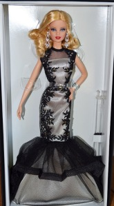 Classic Evening Gown Barbie® Doll – Black & White Collection™ nrfb