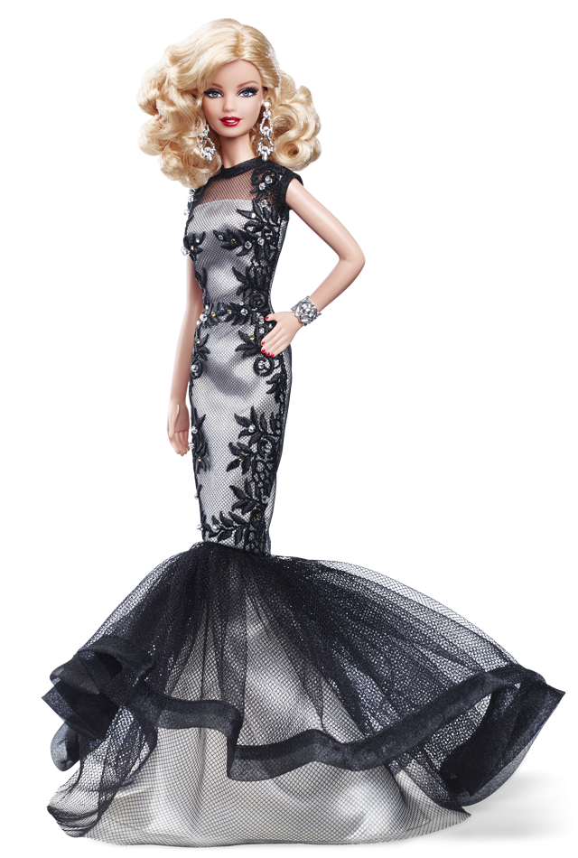 Classic Evening Gown Barbie® Doll