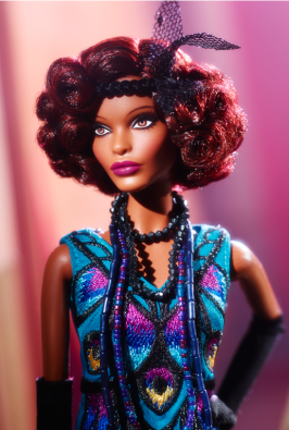 Claudette Gordon™ Barbie® Doll face