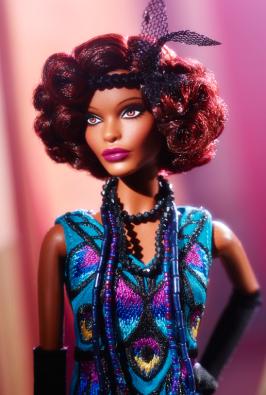 Claudette Gordon™ Barbie® Doll face