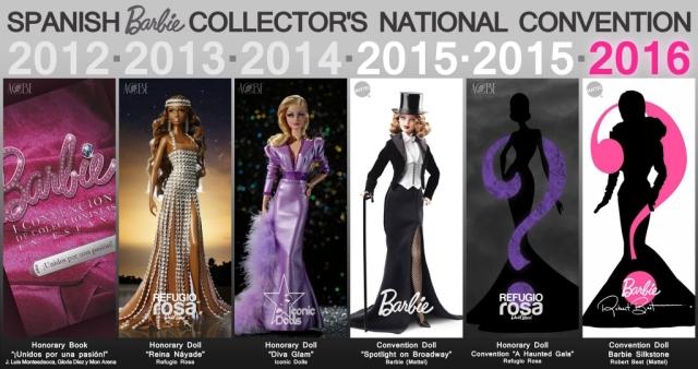 Convención Nacional de Coleccionistas de Barbie en España 2016