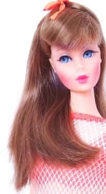 Dark Red Twist 'N Turn Barbie Doll