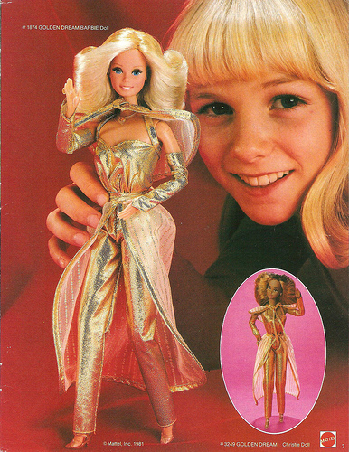 Golden Dream Barbie Doll.