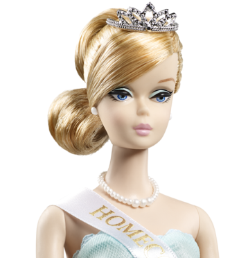 Homecoming Queen™Barbie® Doll face