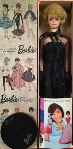 JAPANESE DRESSED BOX BARBIE Doll ~ #1609 BLACK MAGIC