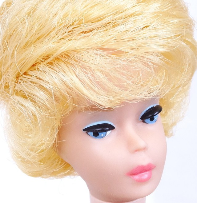 Lemon Blonde Bubblecut Barbie Doll