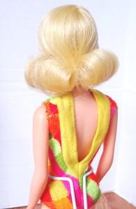 Light Blonde Hair Twist 'N Turn back suit