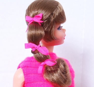 Light Brunette Side Ponytail Talking Barbie Doll