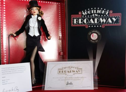 Lisbon Exclusive 2015 Convention Barbie Collector Doll Spotlight On Broadway