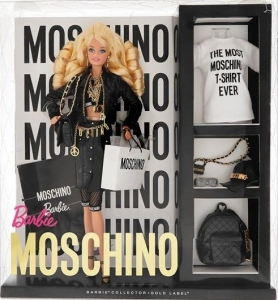 Moschino Barbie dolls nrfb