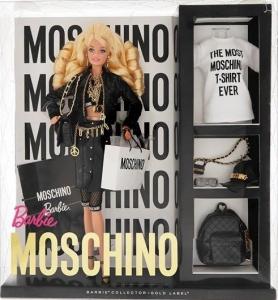 Moschino Barbie dolls nrfb