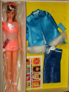 NEW BARBIE BEAUTIFUL BLUES SET BY MATTEL 1966