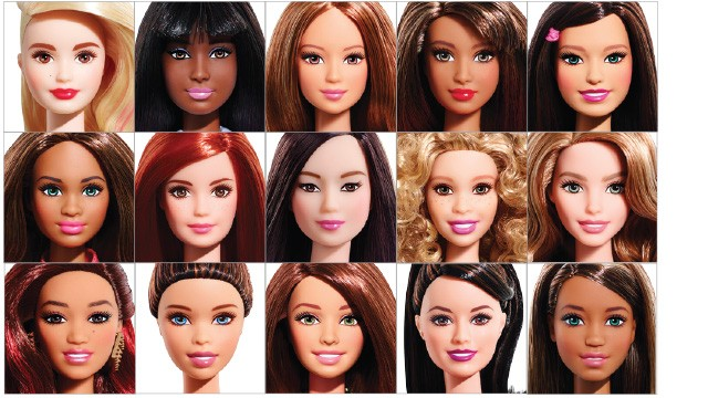 Target Barbie Fashionistas Dolls 2015 Barbie dolls in