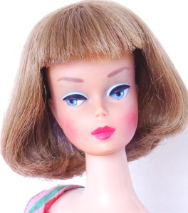 Nutmeg Long Hair High Color American Girl Barbie Doll
