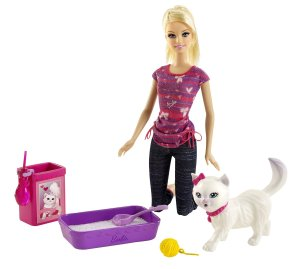 Potty Training Blissa Barbie