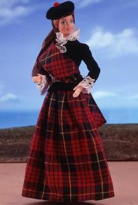 Scottish-Barbie-Doll-1st-Edition-1981