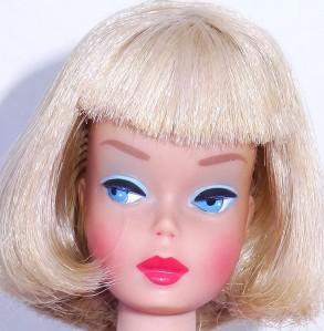 Silver Blonde Long Hair High Color American Girl Barbie Doll