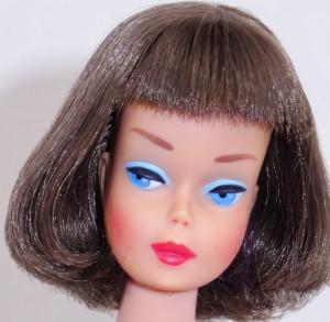Silver Brunette Long Hair High Color American Girl