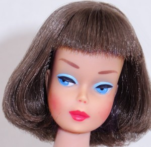 Silver Brunette Long Hair High Color American Girl