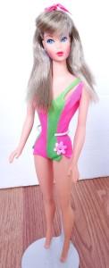 silver hair Standard Barbie Doll
