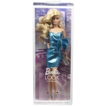 The Barbie Look® City Shine™ Barbie® Doll - Blue Metallic Dress