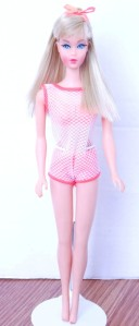 This is the Gift Set Doll to Beautiful Blues Sear Exclusive Blonde Twist 'N Turn TNT Barbie Doll from 1967