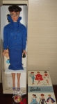 ToyFair~DressBox~#6 Brunette Ponytail inKNITTING PRETTYBlue version of the outfit~MIB~$599~042007