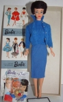 ToyFair~DressBox~BubbleCut inKNITTING PRETTYBlue version of the outfit~MIB
