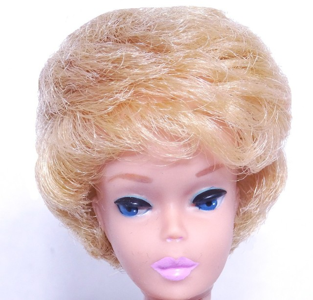 White Ginger Bubble Cut Barbie