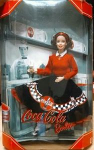 2000 Coca-Cola Barbie #2 nrfb