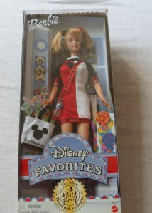 2000 Disney Favorities barbie doll