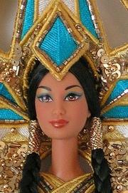 2000 Fantasy Goddess of the Americas - Bob Mackie. f