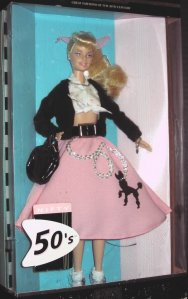2000 Great Fashions of the 20th Century Barbie - 50's