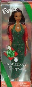 2000 Holiday Surprise Barbie aa