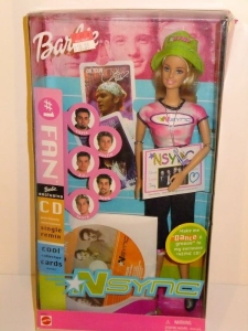 2000 NSYNC #1 Fan Barbie n