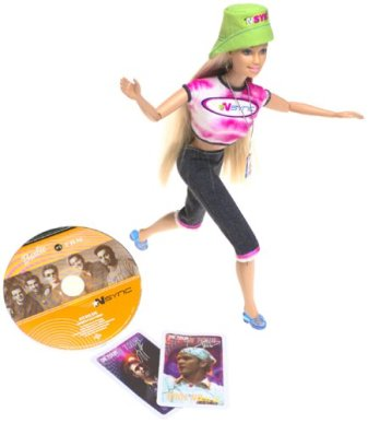 2000 NSYNC #1 Fan Barbie
