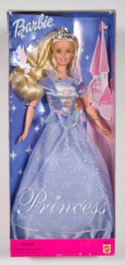 2000 Princess Barbie doll