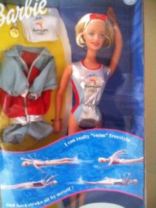 2000 Sydney 2000 Swimmer. a