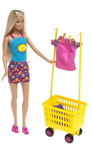 2000 Wash 'N Wear Barbie Doll f
