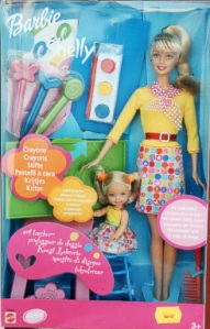 2001 Art Teacher Barbie and Kellly bl