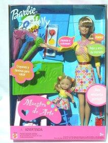 2001 Art Teacher Barbie and Kellly (Spanish Version)